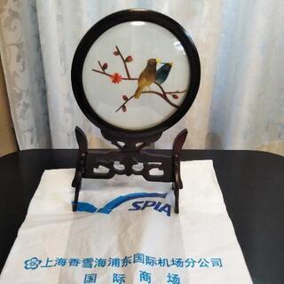 上海のお土産の置き物