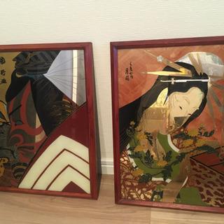 浮世絵風の工芸品