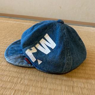 デニム生地 ハンチング帽