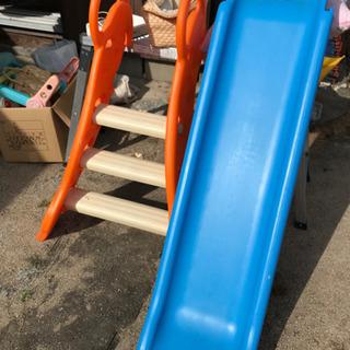 (決まりました)幼児用、滑り台 中古
