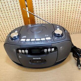 アイワ CDラジオ カセット レコーダー CSD-30 ラ…