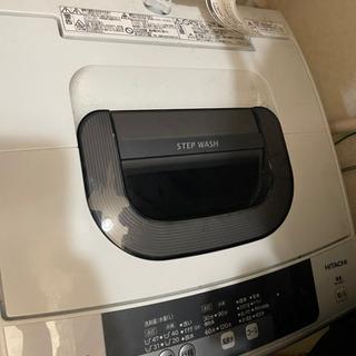 【無料】洗濯機 日立 5キロ NW5WR 2016年 ジャ…