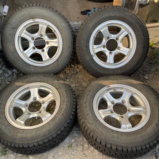 ジムニーシエラ 205/70R15 スタッドレス  タイヤ アル...