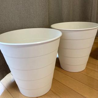 【美品】IKEA ゴミ箱 FNISS フニス トラッシュボ…