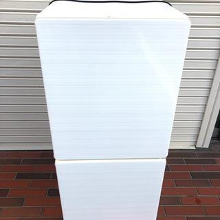 美品■ユーイング 2ドア 冷凍冷蔵庫 スリムモデル クリス…