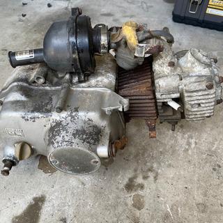 【ネット決済・配送可】モンキー 6Vエンジン 49cc