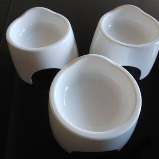 猫のご飯皿(2個)