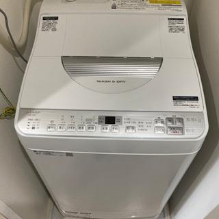 2019年製 SHARP 乾燥付き縦型洗濯機 5.5.kg…