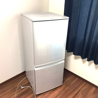 【SHARP】冷蔵庫 一人暮らし用 消毒済