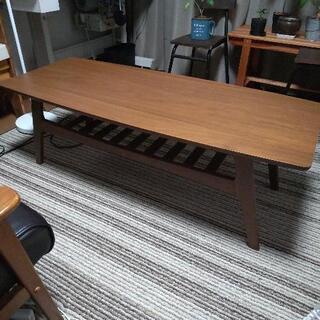 センターテーブル  ローテーブル カフェ風