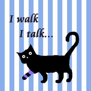 【高円寺】I walk I talkさんの猫デザインレギンス等を...
