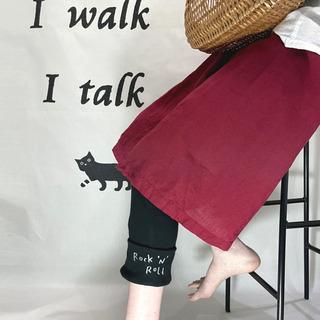 【高円寺】I walk I talkさんの猫デザインレギンス等を販売中! - 杉並区