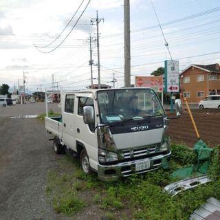 【ネット決済・配送可】エルフパーツ取り車