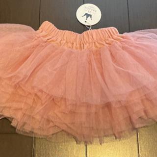 新品タグ付き ベビースカート パニエ チュール