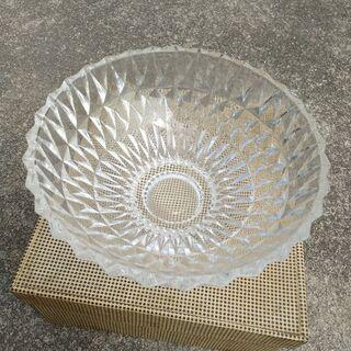 ガラス ボール 皿 レトロ