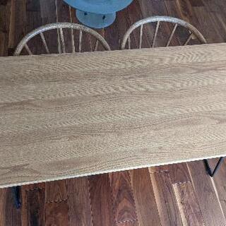 無印 折りたたみテーブル160