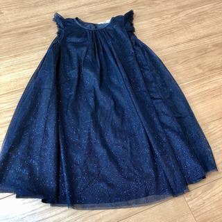 新品 H&M ラメワンピースドレス