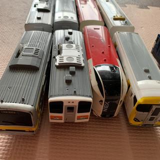 プラレール13車両、貨車、ハッピーセット付録付き