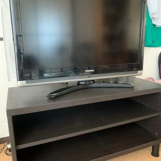 32型テレビとテレビ台