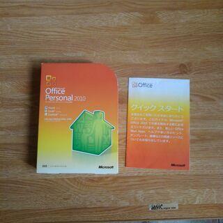 【ネット決済・配送可】マイクロソフトオフイスソフト2010パーソナル