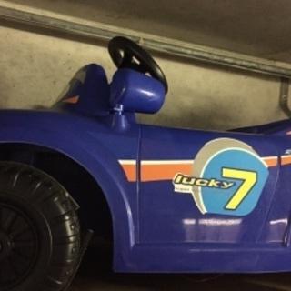 【ジャンク】子供用の大型ミニカー?ラジコン?