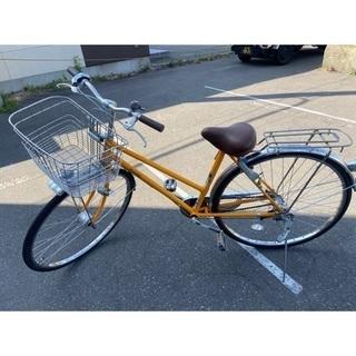 ❤️🐖O&M 自転車 ママチャリ オレンジ 27インチ🐖❤️