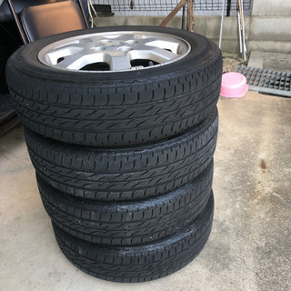 155/65/R14 タントのタイヤ