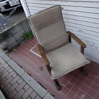 座椅子 こたつでも使える リクライニング付き 高さ調整付き…