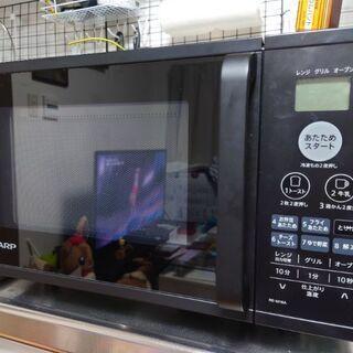 SHARPオーブン機能付き電子レンジ