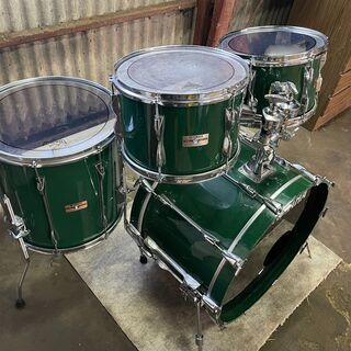 YAMAHA YD9000R ジェイドグリーン ドラムセット 1...