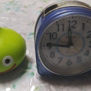 目覚まし時計とオマケ