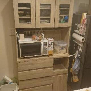 【ネット決済・配送可】「値引き」食器棚