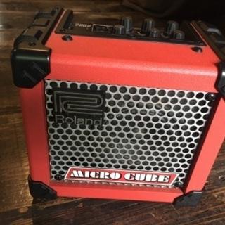【ネット決済・配送可】roland micro cube ギターアンプ