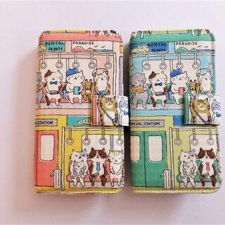 【高円寺】komono maniaさんの猫デザインスマホカバーを...