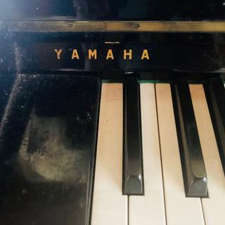 【ネット決済・配送可】ヤマハ アップライトピアノ