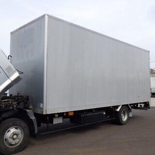 アルミバン ボデー 4t 小型 箱 コンテナ 物置 DIY 倉庫...