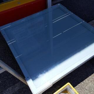 【無料!】lapalma ガラステーブル 砂絵 101×101×...