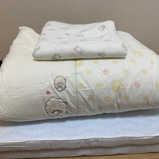 西川ベビー布団マットレス (70×120) 5点とオマケ