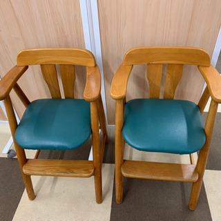 子供用椅子2個セット