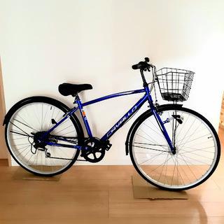 値下げ❗未使用自転車!3段変速27インチブルー!!