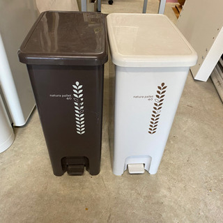【お話し中】【中古品】ゴミ箱2点セット