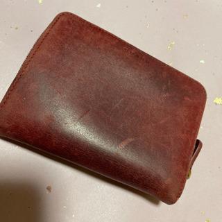 COACH 二つ折り財布 ボルドー