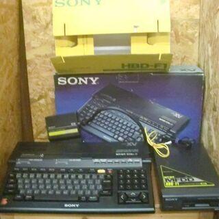 激レア!MSX2+本体 HB-F1XV+マイクロフロッピーディス...