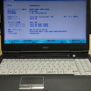 【ネット決済・配送可】**Fujitsu Lifebook A5...