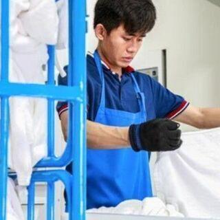 時給1,250円! リネン工場での洗濯作業全般