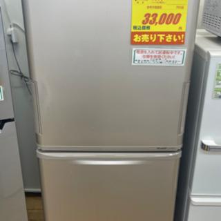 SHARP製★2012年製3ドア冷蔵庫★6ヵ月間保証付き★近隣配送可能