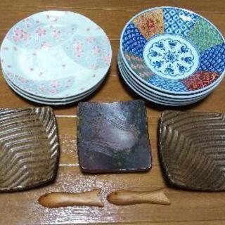 美濃焼と中島誠之助監修品を含む 和皿のセット