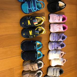子供 靴9セット(13〜16cm)