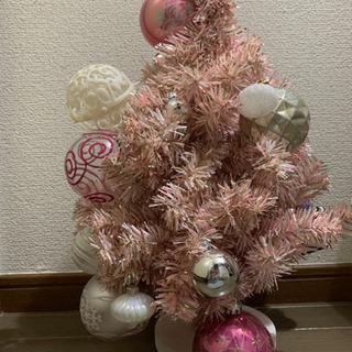 ミニクリスマスツリー★ピンク★