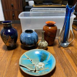 花瓶大皿セット